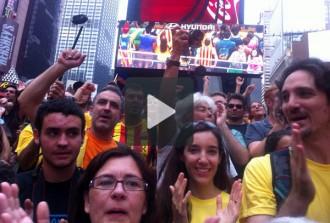 La Via Catalana al món, en vídeo
