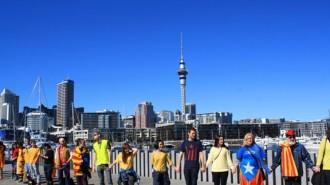 El gra de sorra des de Nova Zelanda