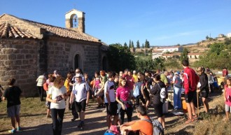 270 persones participen a la setzena Caminada popular al Vinyet de Solsona