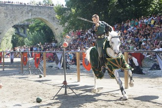 El Besalú Medieval rep més de 20.000 visitants