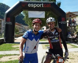 Joan Compte i Joan Llordella, els més ràpids a la Territori d'Isards
