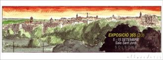 Aleix Albareda segueix exposant les seves obres aquesta Festa Major