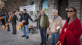 Una diputada sueca, a la Via Catalana d'Estocolm