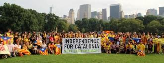 Via Catalana al món, en fotos