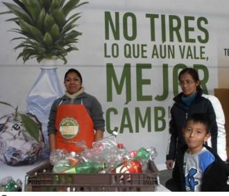 Vés a: Ciutat de Mèxic canvia deixalles per aliments