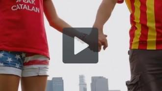 Vídeo: la Via Catalana a Nova York, el vídeo definitiu
