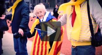 Via Catalana al món, en vídeo