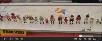 Vídeo: Playmòbils independentistes, la cadena més simpàtica!