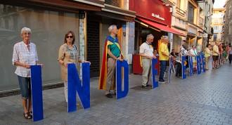 El Vallès Oriental omple 168 autocars  per cobrir la immensa Via Catalana
