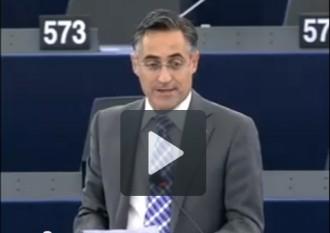 Ramon Tremosa explica la Via Catalana al Parlament Europeu