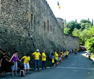 Gairebé 4.000 baixmontsenyencs participaran a la Via Catalana