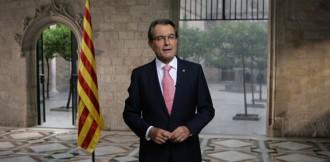 Mas: «Catalunya ha de ser consultada l'any vinent sobre el seu futur polític»