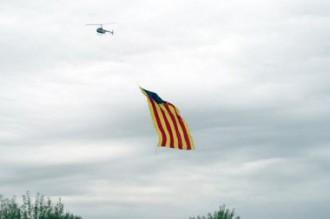 L'helicòpter de l'estelada volarà sobre la Via
