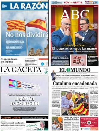 Madrid: portades que treuen foc i reclamen mà dura...