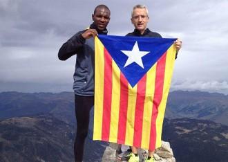 Éric Abidal se suma a la Via Catalana