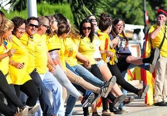 La Via Catalana, arreu del país