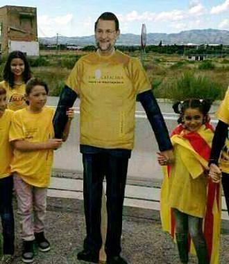 Foto: Rajoy va anar a la Via Catalana