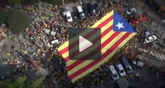 Vídeos de la Via Catalana