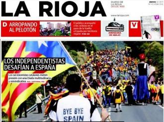 Via Catalana: setanta portades de premsa d'avui, en una pàgina