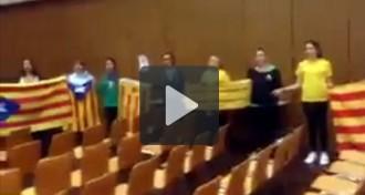 Via Catalana a Alemanya, amb el Cor Infantil Amics de la Unió