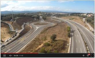 Via Catalana: disponible el vídeo des de l'avioneta dels trams 507 a 557