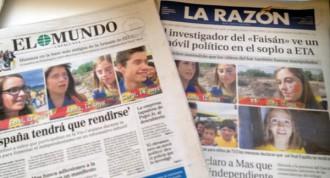 El Mundo i La Razón acusen TV3 de «manipular nens» per la Diada