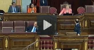Alfred Bosch, expulsat del Congrés espanyol per enraonar en anglès