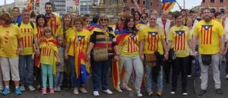 Gigafoto de la Via Catalana