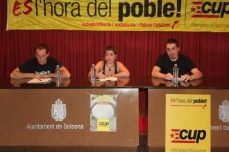 La CUP vol entrar a l'escena política del Solsonès