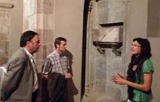 Santpedor mostra l'ossari recuperat de Pere de Prat