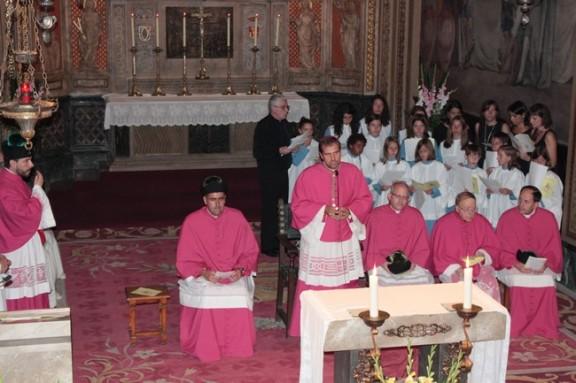 El bisbe Novell exhorta als fidels a pregar per la pau a Síria