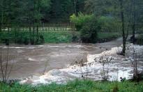 Les pluges fan augmentar el cabal dels rius a Osona