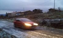 Una nevada fugaç deixa quatre volves arreu d'Osona
