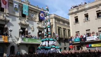 Els Castellers de Vilafranca, candidats a protagonitzar l'èxtasi