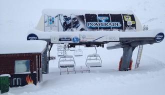Una llevantada pot deixar més d'un metre de neu al Pirineu Oriental