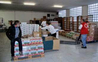 El nou rebost solidari d'aliments de Caldes de Montbui obres les portes