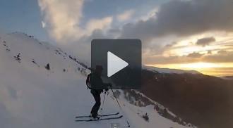 Una sortida de sol de neu a Fontalba