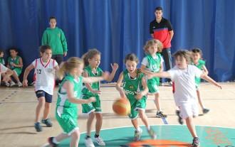 Les escoles de bàsquet de la Catalunya Central es troben a Sant Fruitós