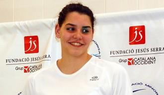 Mireia Pradell, del CN Minorisa, als Campionats d'Espanya de natació