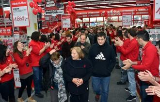 Media Markt Parets rep 25.000 clients durant els primers dies d'apertura