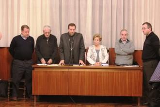 El bisbe de Solsona participa a la reunió de la Vint-i-quatrena