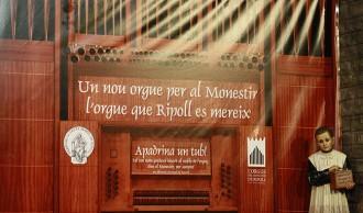 Ripoll buscarà padrins a l'Àsia per finançar el nou orgue del Monestir