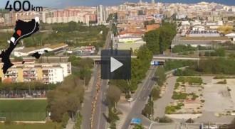 La Via Catalana, a vol d'ocell