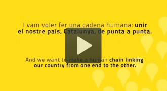 L'ANC s'explica al món: «Catalunya should have the right to vote»