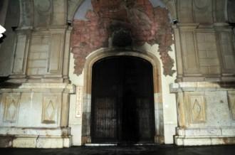 Uns desconeguts calen foc al santuari de Misericòrdia
