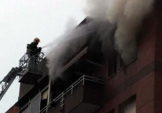 Incendi en un habitatge de Canovelles sense ferits
