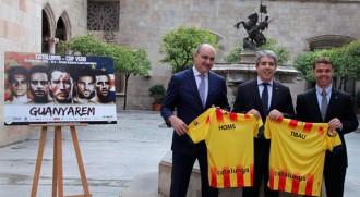 El conseller Homs fa una crida a assistir al partit de la selecció catalana