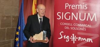 Francesc Casafont i Fornell, Premi Signum 2013