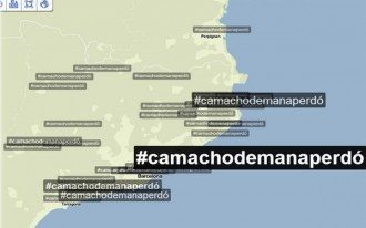 #Camachodemanaperdó, Trending Topic