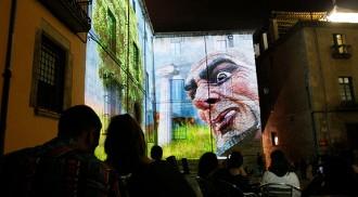 Les façanes emblemàtiques de Girona esdevindran un gran plató de videoart